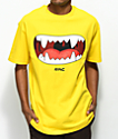 Ain't Nobody Cool Anime Mouth Yellow T-Shirt