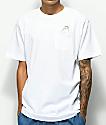 Ain't Nobody Cool Circle Game Pocket White T-Shirt