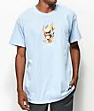 Ain't Nobody Cool Love Burns Light Blue T-Shirt