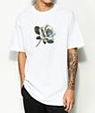 Ain't Nobody Cool Rose camiseta blanca