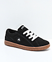 Airwalk One Black & Gum Skate Shoes
