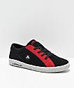 Airwalk The One zapatos de skate en negro y rojo