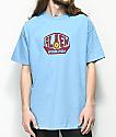 Alien Workshop Logo camiseta en azul claro