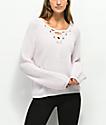 Almost Famous Darla suéter rosa