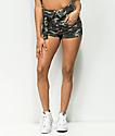 Almost Famous Jada Hi Rise Camo Shorts