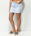 Almost Famous falda de mezclilla con lavado claro