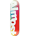 """Almost Side Pipe Blurry 8.0"""" Skateboard Deck"""
