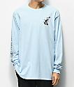 Almost x Dr. Seuss Cat Pusher Light Blue Long Sleeve T-Shirt