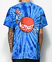 Almost x Dr. Seuss Hat Dot Blue Tie Dye T-Shirt