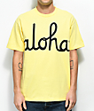 Aloha Army Aloha Banana Yellow T-Shirt
