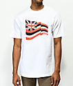 Aloha Army Pride Fly White T-Shirt