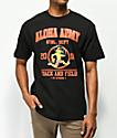Aloha Army Track & Field camiseta negra