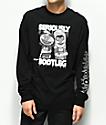 Altamont Bootleg Black Long Sleeve T-Shirt