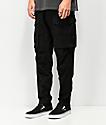 American Stitch Slim Black Cargo Pants