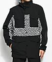 Analog Tollgate True Black Checker 10K Snowboard Jacket
