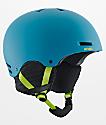 Anon Raider Blue & Green Snowboard Helmet