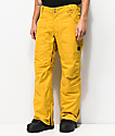 Aperture Boomer 10K pantalones de snowboard dorados