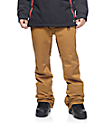 Aperture Green Line 10K Khaki Snowboard Pants