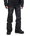 Aperture Green Line 10k Black Snowboard Pants