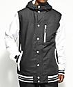 Aperture Outlaw Varsity Black & White 10K Snowboard Jacket