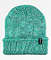 Aperture Pedro Teal Slouch Beanie