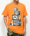 Aras TV camiseta naranja