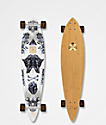 "Arbor Fish Bamboo Collection 37"" pintail longboard completo"