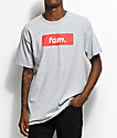 Artist Collective Fam. Box Logo camiseta gris