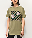 Artist Collective Flowers Pistachio T-Shirt