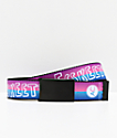Artist Collective Hand Font Two Tone Web Belt