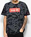 Artist Collective Issa Lit Black Tie Dye T-Shirt