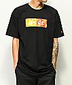 Artist Collective It's Lit Flame Box camiseta negra