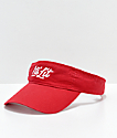 Artist Collective It's Lit Red Visor
