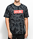 Artist Collective Its Lit Black Tie Dye T-Shirt