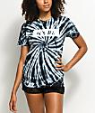 Artist Collective Its Lit camiseta con efecto tie dye en negro