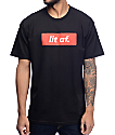 Artist Collective Lit AF Black T-Shirt