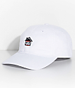Artist Collective Trap House White Strapback Hat