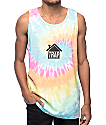 Artist Collective Trap House camiseta sin mangas con efecto tie dye