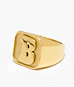 Baker Capital B Gold Ring