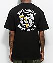 Beer Savage Bone Club Black T-Shirt