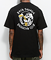 Beer Savage Bone Club camiseta negra