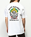 Beer Savage Borracho White T-Shirt