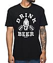 Beer Savage Gym Savage camiseta negra