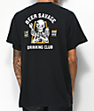 Beer Savage Motor Club Black T-Shirt
