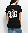 Biggie Baby Crown camiseta negra