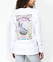 Billabong High Tide New Wave White Long Sleeve T-Shirt
