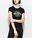 Billabong Label Shrunken Black T-Shirt