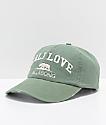 Billabong Pitstop Cali Love Green Strapback Hat