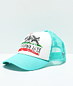Billabong Pitstop Teal Cali Love Snapback Hat