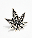 Black Leaf Pin